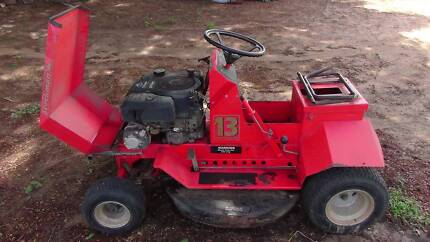 COX 13hp Ride-on mower.