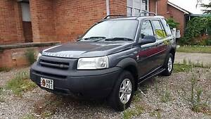 2003 LAND ROVER FREELANDER WAGON IN IMMACULATE CONDITION Guildford Parramatta Area Preview