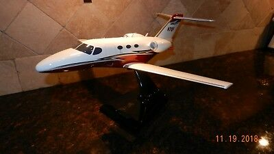 Cessna Citation Mustang Business Jet Model Airplane Detailed Display Desktop FDM