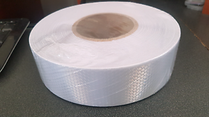 50m roll 5cm wide diamond silver / white reflective adhesive tape Daceyville Botany Bay Area Preview