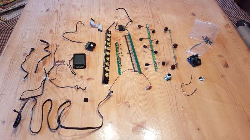 Limex Midi Mpr2 Vollmidi mit Mikro Diskant und Bass für 4 reihige Harmonika