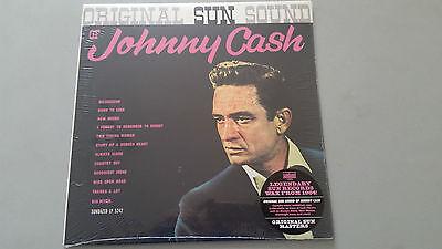 "JOHNNY CASH ""ORIGINAL SUN SOUND"" USA SUNDAZED 2015 REISSUE LP vinyl pressing"