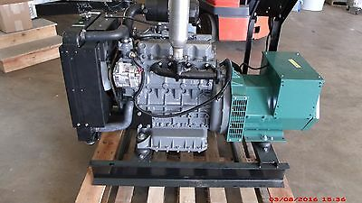 16.5kw Single Phase 120240 Volts Kubota Diesel Generator Set