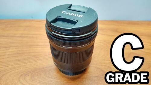 C GRADE Canon EF-S 10-18mm F/4.5-5.6 IS STM Lens Auto/Manual Focus - Stabilizer