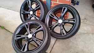 Fpv gt 335 rims and new tyres swap Pakenham Cardinia Area Preview