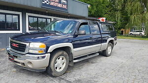 2005 Gmc SIERRA Z71 4X4 CERTIFIED ETESTED ONLY  $4999+taxes