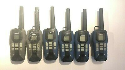 Untestedlot 6x Uniden 80-km Waterproof Gmrs 2-way Radio Handheld Gmr5098-2ckvp