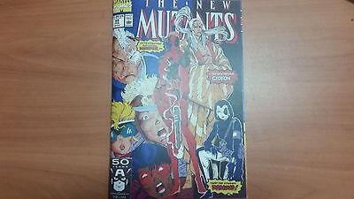 Reprint NEW MUTANTS 98 1ST DEADPOOL Custom Made Cover w/ Original Reprint