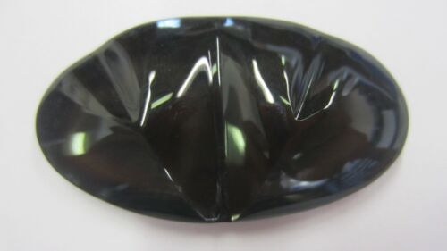 26.8mmx47.2mm Natural Rainbow Obsidian Double Heart Cabochon Gemstones Cab Gems
