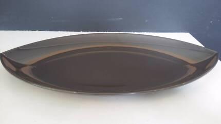 TWO BRAND NEW Tupperware Rare Zen Large Eye Dish/Platter BARGAIN