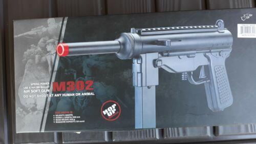 UKARMS M302 HOP UP Spring Airsoft Pistol Uzi Gun  6mm * NEW *