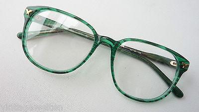 Glasses Frames Large Pantoglasform in Plastic Emerald Green (Large Frame Glasses Online)