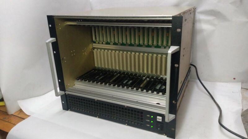 ELMA 21 Slot Rackmount VME  Chassis P/N 12V-0920-RV21J10-P500, Clean, Working