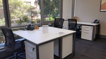 FURNISHED SERVICED OFFICE - WINDOW - CONVENIENT LOCATION