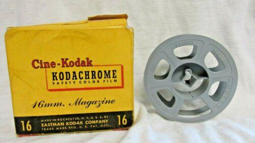 KODAK 16mm 3 INCH MOVIE REEL PLASTIC WITH BOX