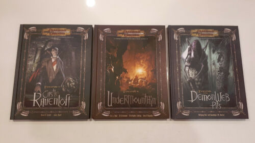 Expedition to Ravenleft Demonweb Pits Undermountain Dungeons & Dragons D&D Books