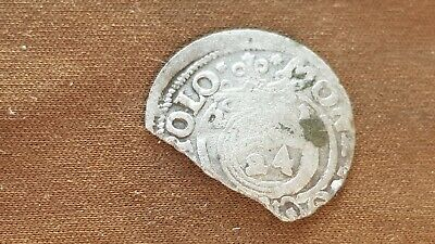 Lovely unresearched silver hammered in uncleaned condition found in Europe L70L