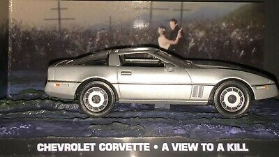 IXO 007 James Bond Chevrolet Corvette A View To A Kill  1:43 New  Sealed Package