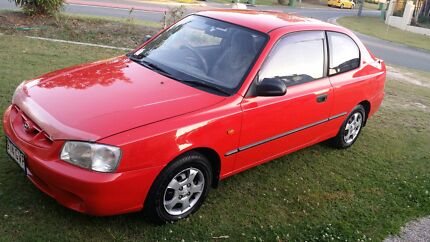 2002 hyundai accent. Rego and RWC Arundel Gold Coast City Preview