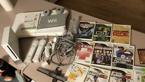 Nintendo Wii and 12 games