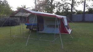 Camper Trailer Semi Off Road.   Please send reasonable offers.