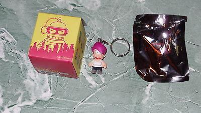 "Kidrobot Futurama Series 1 Leela 1.5"" Vinyl Figure Keychain Keychains Box"