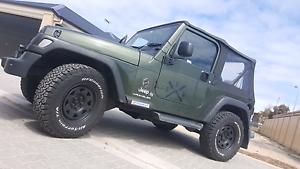 2006 TJ Jeep Wrangler Seaford Meadows Morphett Vale Area Preview