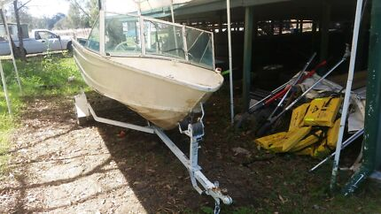 4.3m tinny with 25hp mariner Ipswich Ipswich City Preview