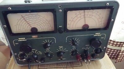 Vintage Navy Rf Sweep Marker Generator Final Reduction