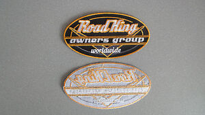 Road-King-Owners-Group-Patch-11-x-6-cm-for-Harley-Davidson-Road-King-Owners