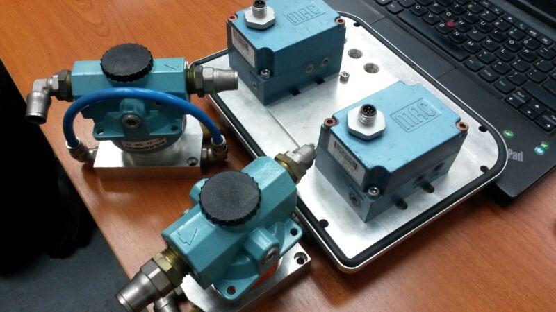 ABB Paint Robot IP Transducer Kit 2Ch 3HNM13620-1 MAC Valve Wilkerson Booster