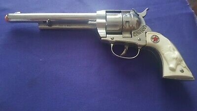 Vintage Hubley Cowboy TOY Cap Gun Red Star