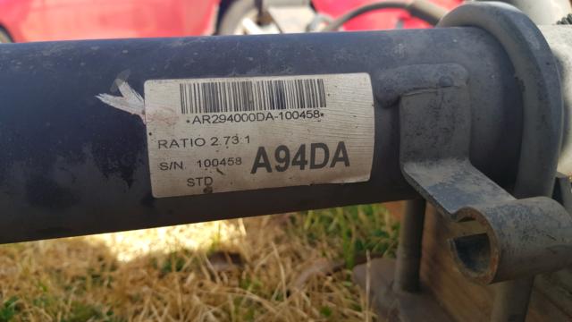Ford FG ute diff | Engine, Engine Parts & Transmission | Gumtree