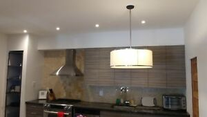 Hanging Light Fixture.  Modern look