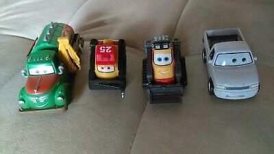 Disney Pixar Planes Cars Diecast Rare Lot Chug & Duff Wrecks & Drip & Blackout