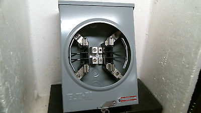 Eaton Ringless Type Single Meter Socket 125a Uhtrs101be