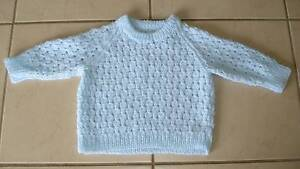 Baby Boys Beautiful Pale Blue Knitted Jumper Beaudesert Ipswich South Preview