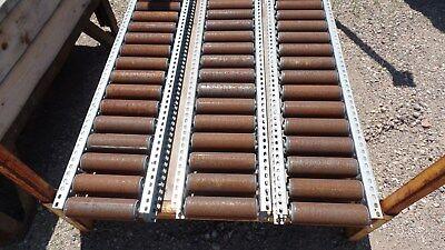 Gravity Conveyor 64 L X 11.5 W Roller Size 8 W X 2 38 W 1000 Feet