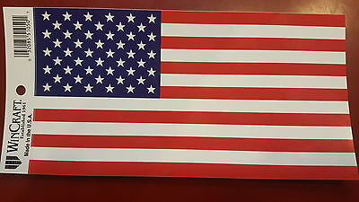 BRAND NEW BEST QUALITY USA FLAG VINYL BUMPER STICKER ADHESIVE DECAL GRAPHIC HUGE (Best Stickers)