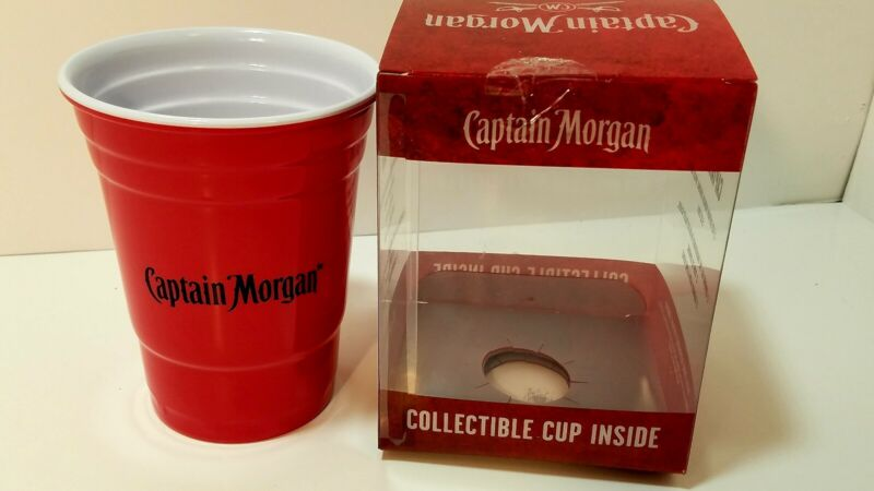 Captain Morgan Collectible Red Cup 2016 Insulated Solo Novelty