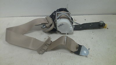2009 TAHOE LH  DRIVER SEAT BELT AND RETRACTOR GM PART 25918008 TAN