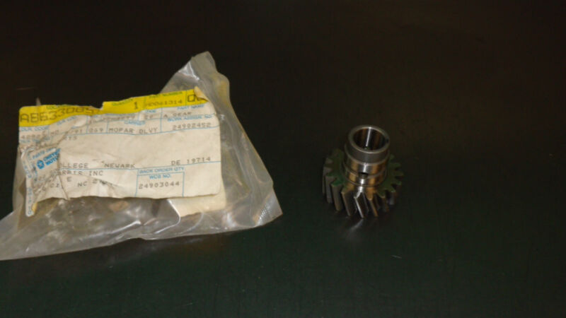 New Nos Oem Mopar Oil Pump Drive Gear MD061314 1985-1989 2.6L Dodge Plymouth