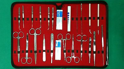 36 Pc Medical Student Dissection Kit Surgical Instrument Kit Wscalpel Blade 11