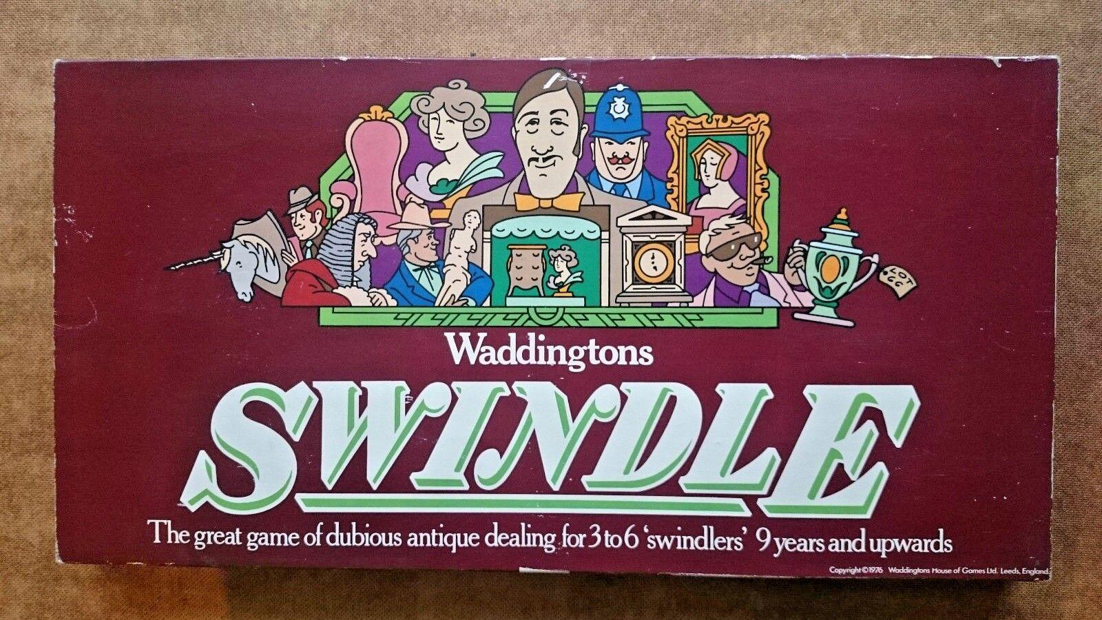 Swindle .. Board Game..Waddingtons 1976