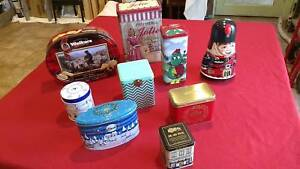 Assorted decorative tins Mitcham Whitehorse Area Preview