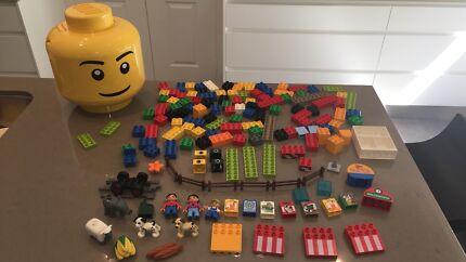 Bulk Duplo and Lego head