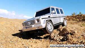 1:18 scale RC Mercedes-Benz G500 4WD Rosewater Port Adelaide Area Preview