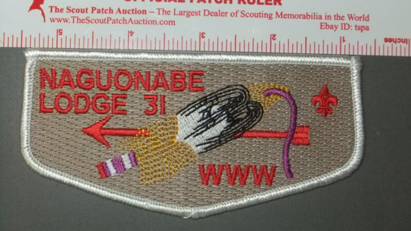 Boy Scout OA 31 Naguonabe flap 7533II