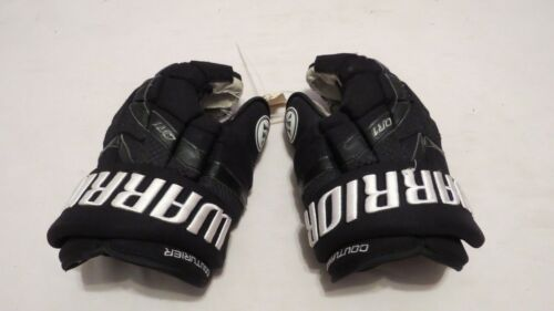 """Sean Couturier Used Warrior QR1 Pro Stock Flyers 14"""" Hockey Gloves! MeiGray"""
