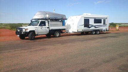 TRAILCRAFT 640 21ft SEMI OFFROAD CARAVAN SOLAR POWERED Greenfields Mandurah Area Preview
